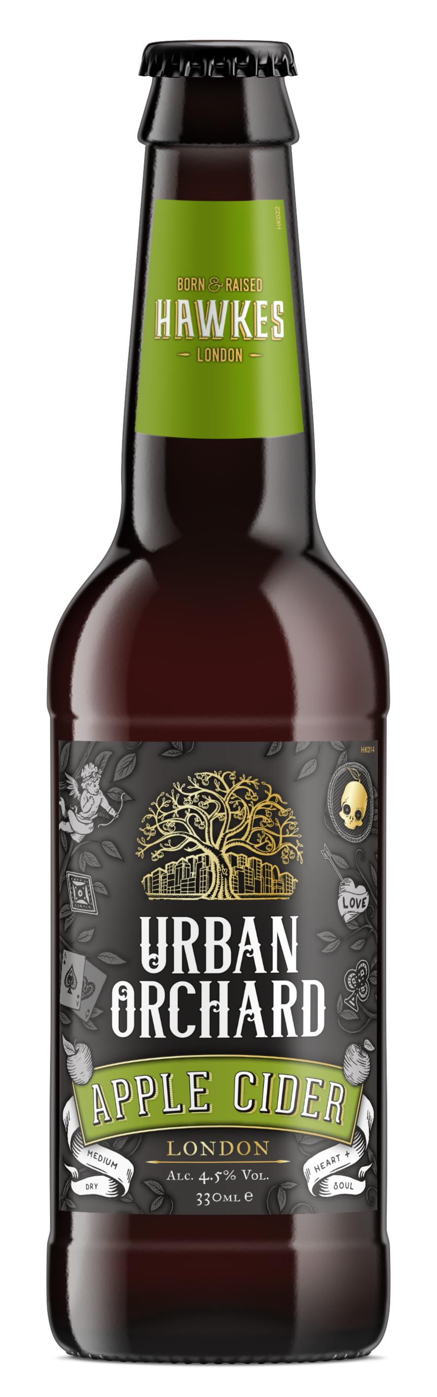 Hawkes Urban Orchard Cider 330 ml x 24