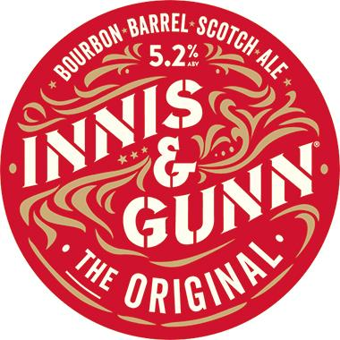 Innis & Gunn The Original bourbon barrel-aged 30 lt x 1