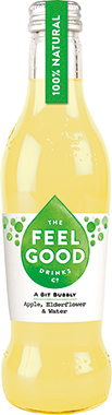 Feel Good Sparkling Apple & Elderflower 275 ml x 24