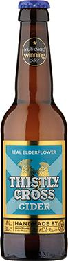 Thistly Cross Real Elderflower Cider 330 ml x 12