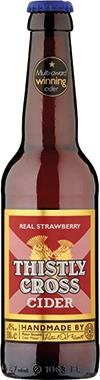 Thistly Cross Real Strawberry Cider 330 ml x 12
