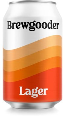 Brewgooder Clean Water Lager, Can