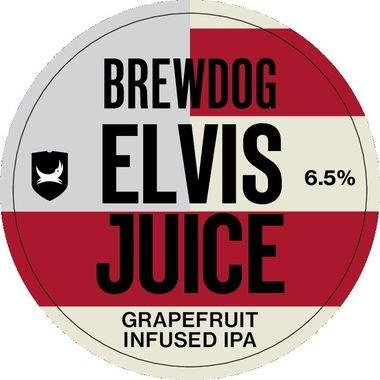 Brewdog Elvis Juice, Keg 30 lt x 1