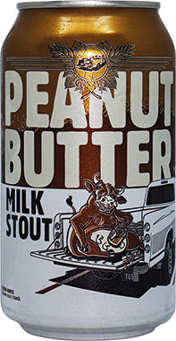 Peanut Butter Milk Stout Can - Tailgate 355 ml x 24