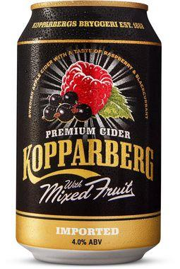 Kopparberg Mixed Fruit Cider, Can 330 ml x 24