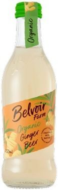 Belvoir Fruit Farms Organic Ginger Beer 250 ml x 12