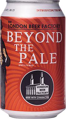 The London Beer Factory Beyond The Pale, Can 330 ml x 24