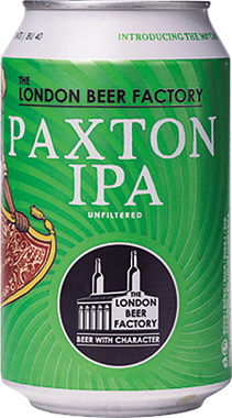 The London Beer Factory Paxton IPA, Can 330 ml x 24