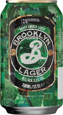 Brooklyn Lager, Can 355 ml x 24
