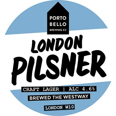 Portobello London Pilsner, Keg 30 lt x 1