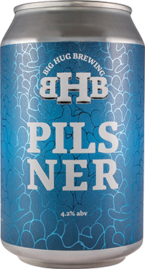 Big Hug Pilsner, Can 330 ml x 24