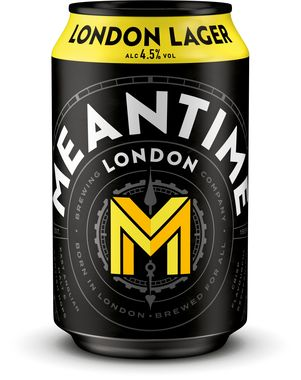 Meantime London Lager, Can 330 ml x 12