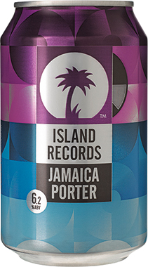 Island Records Jamaican Porter, Can 330 ml x 24