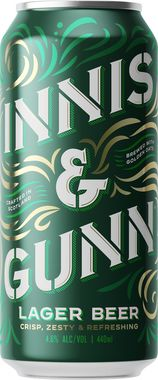 Innis & Gunn Lager, Can 440 ml x 24