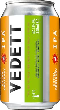 Vedett IPA Can 330 ml x 24