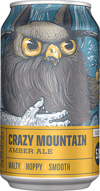 Crazy M Amber Ale Can 355 ml x 24