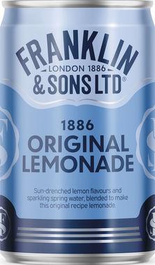 Franklins Lemonade Cans