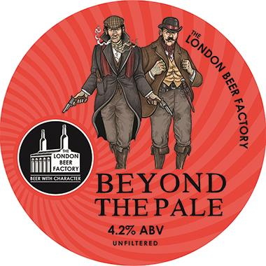 The London Beer Factory Beyond the Pale, Keg 30 lt x 1