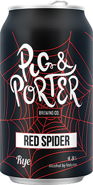 Red Spider Rye Cans 330 ml x 24
