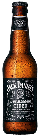 Jack Daniels Tennessee Cider 5.5% ABV