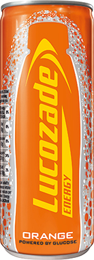 Lucozade Energy Orange Can 250 ml x 24