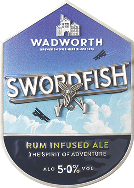 Wadworth Swordfish, Cask 9 gal x 1