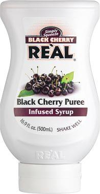 Re'al Black Cherry Infused Syrup 50 cl x 6