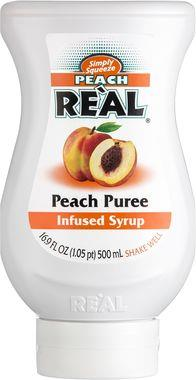 Re'al Peach puree infused syrup 50 cl x 6