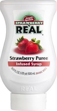 Re'al Strawberry puree infused syrup 50 cl x 6