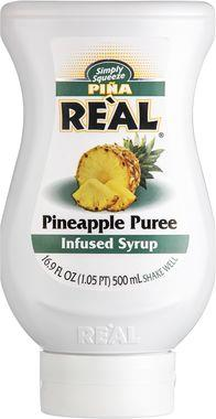 Re'al Pineapple puree infused syrup 50 cl x 6