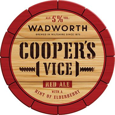Wadworth Cooper's Vice, Cask 9 gal x 1