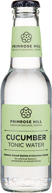 Primrose Hill Premium Natural Mixers Cucumber Tonic Water 200 ml x 24