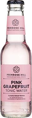 Primrose Hill Premium Natural Mixers Pink Grapefruit Tonic Water 200 ml x 24