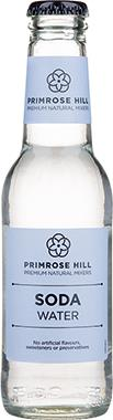 Primrose Hill Premium Natural Mixers Soda Water 200 ml x 24