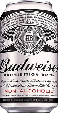 Budweiser Prohibition Brew Non-Alcoholic, Can 330 ml x 24