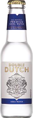 Double Dutch Soda water, NRB 200 ml x 24