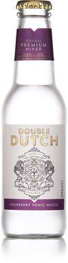 Double Dutch Cranberry Tonic Water, NRB 200 ml x 24
