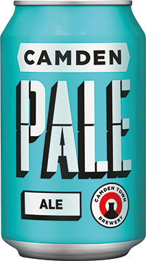 Camden Town Pale Ale, Can 330 ml x 24