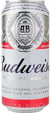 Budweiser Can 440 ml x 24
