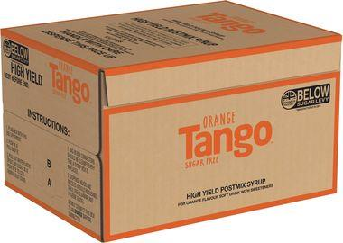 Tango Orange Sugar Free High Yield Bag in Box 12 lt x 1