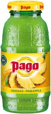 Pago Pineapple 100% 200ml x 12