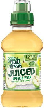 Fruit Shoot Juiced Apple & Pear, PET 200 ml x 24