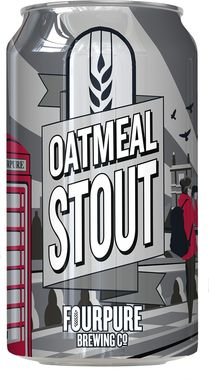 Fourpure Oatmeal Stout, Can 330 ml x 12