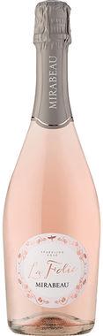 La Folie Sparkling Rosé Mirabeau