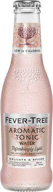 Fever Tree Refreshingly Light Aromatic Tonic Water, NRB 200 ml x 24