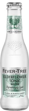 Fever Tree Refreshingly Light Elderflower Tonic Water, NRB
