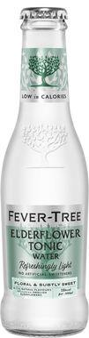 Fever Tree Refreshingly Light Elderflower Tonic Water, NRB 200 ml x 24