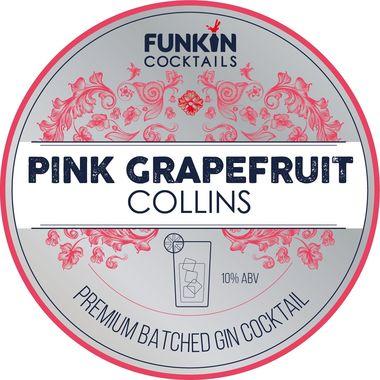 Funkin Grapefruit Gin Collins Keg