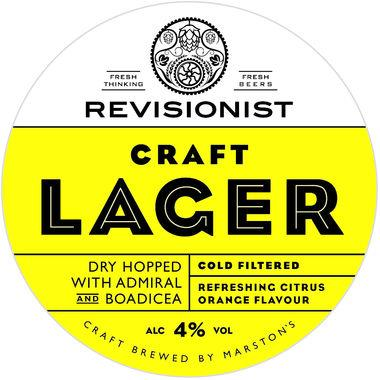 Revisionist Craft English Lager, Keg 11 gal x 1