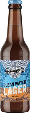 Brewgooder Clean Water Lager 330 ml x 12